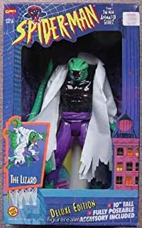 The Lizard Action Figure - Deluxe edition - Spider-Man - Marvel - Toy Biz - 10 Tall - Fully Poseable - Limited Edition - Mint - Collectible by Toy Biz
