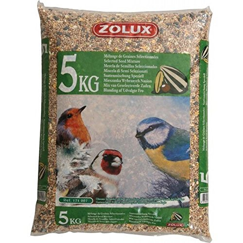 Zolux Granulés de Jardin 5 kg, Aliments pour Oiseaux, Multicolore
