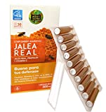 Jalea Real con Propóleo y Vitamina C | Mayor Energía y Vitalidad Refuerza nuestro sistema inmune de forma natural | 30 Ampollas | Suministro para 1 mes