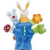 HABA 302574 - Handpuppe Tierwelt, Kleinkindspielzeug