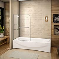 120x140cm Mamparas baño pantalla para bañera de vidrio templado de Aica