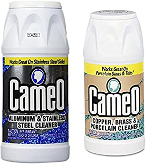 Cameo Aluminum & Stainless Steel Cleaner + Copper & Brass Cleaner (Variety Pack)