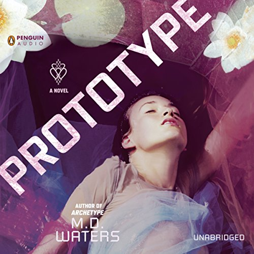 Prototype audiobook cover art