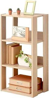 アイリスオーヤマ ラック ディスプレイ リビング収納 本棚 靴箱 下駄箱 木製 4段 幅40×奥行29.2×高さ87.9cm ナチュラル OWR-400