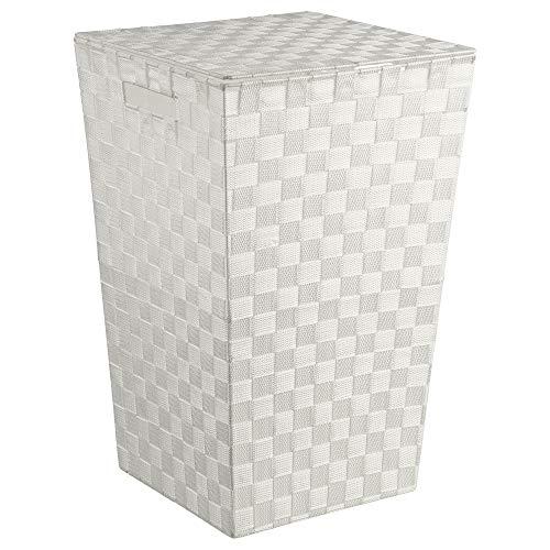 Panier à linge blanc INSTANT D'O 53 cm