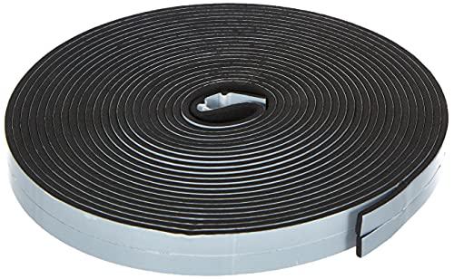 Tre Emme 96030 Guarnizione adesiva, nera, 3 x 10 mm