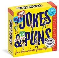 290 Bad Jokes & 75 Punderful Puns 2021 Calendar