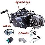 TFCFL 125cc Engine 4 Stroke Motor Single cylinder with Air-Cooled Motor Engine Pit Dirt Bike For Honda CRF50 CRF70 XR50 XR70 Dirt Pit Bike Motorcycle Spark Plug A7TC