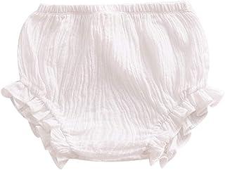 Toddler Baby Girls Boys Cotton Bloomer Shorts Underwear Ruffle Panty Diaper Cover Briefs Infant's Underwear