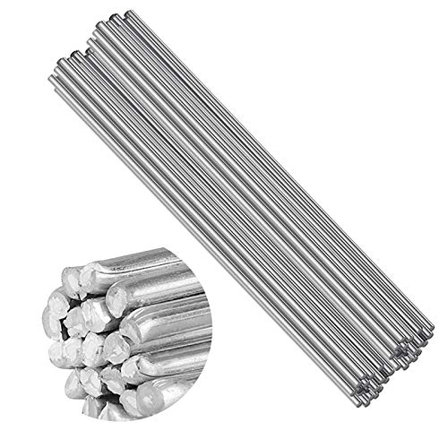 Aluminium svetstråd med låg temperatur, 50 st 2,0 mm svetsflödeskärnor stänger lätt att smälta svetsning lödkorrosion motstånd inget behov lödpulver (50 cm)