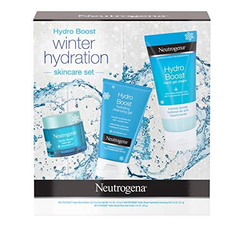 Neutrogena Hydro Boost Winter Gift Set With Hyaluronic Acid Gel Cream Moisturizer, 1.0 Count