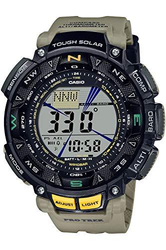 [カシオ] 腕時計 プロトレック ソーラー PRG-240-5JF メンズ カーキ