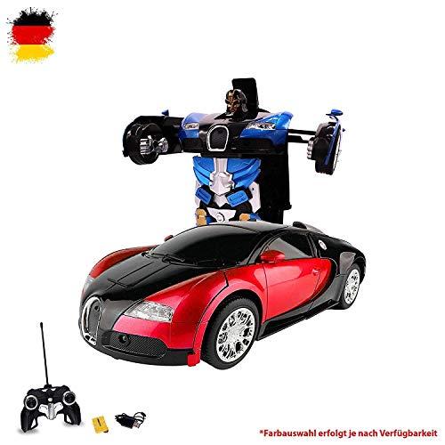 HSP Himoto RC voiture robot, transformation par bouton pression, 2,4 GHz, Kit complet RTR avec télécommande, batterie et chargeur