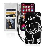 サーフィンガールハワイ Iphone11スマホケース 手帳型 レザー 財布型 ワイヤレス充電可能 マグ……