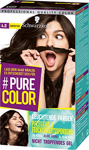 SCHWARZKOPF #PURE COLOR Coloration 4.0 Zartbitter Stufe 3, 1er Pack (1 x 143 ml)
