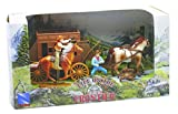 New Ray 38537 – Playset Big Western Town Juego – Stage Coach