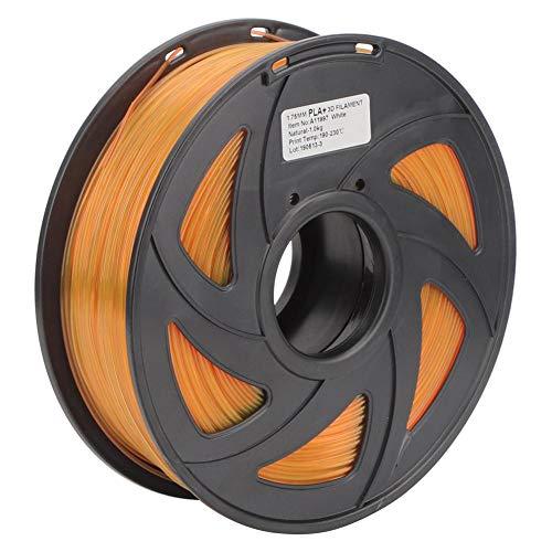 Paquete Impresora 3D Filamento Largo Naranja PLA Material de impresión Consumibles 1.75 mm Diámetro 1 kg