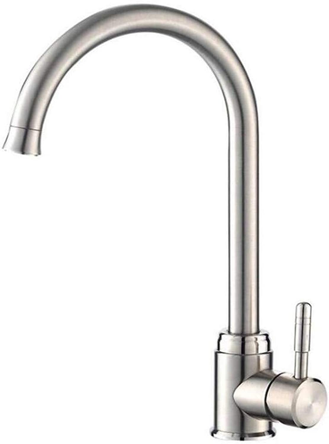 Kitchen Bath Basin Sink Bathroom Taps Taps Mixer Faucet Sink Stainless Steel Cold and Hot Basin Tap Ctzl0531