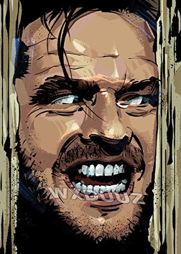 fdgdfgd Película de Hollywood Personaje clásico Asesino Juego de rol póster decoración artística póster de Calidad HD Pintura en Lienzo