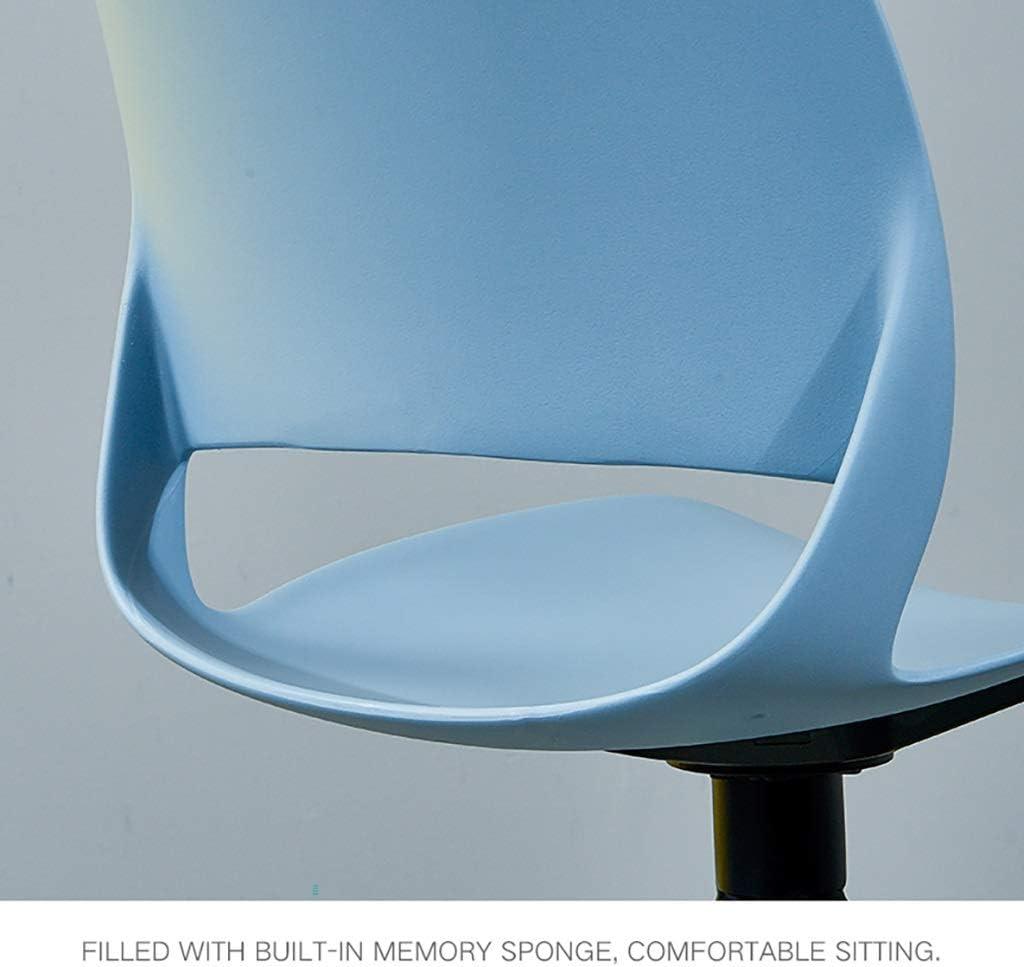 Chaise en plastique tabouret maison dossier restaurant loisirs créatif dinant la personnalité de la chaise (Couleur : Rouge) Gray
