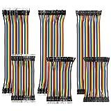 YXPCARS - Juego de 240 cables de 10 cm y 20 cm macho a hembra, macho a macho, femenino a hembra, para Arduino
