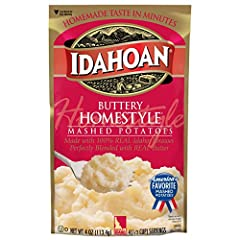 Made with 100-Percent Real Idaho potatoes Naturally Gluten-Free potatoes perfectly blended with rich butter for a classic favorite Includes 12 (4oz) convenient count club packs, 48 total servings Easy and quick to prepare—simply add water and ready i...