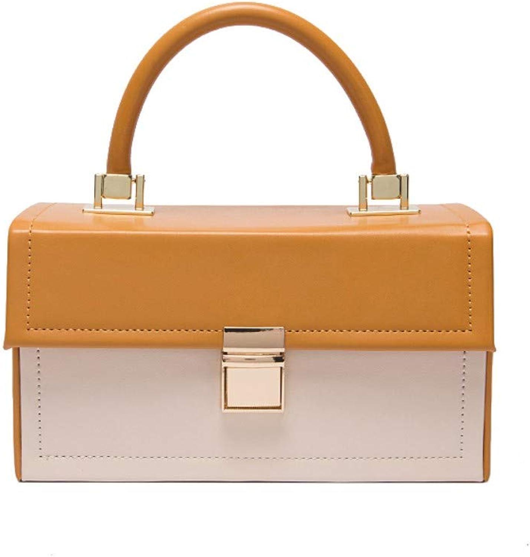 Hxkb Crossbody bag bag bag Umhängetasche Umhängetasche Tasche Weibliche Wilde Mode Kontrastfarbe Einfache Schulter Diagonale B07MW2NVFL  Billig ideal 47e2f2
