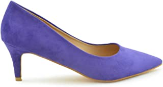 7e9f739b Amazon.es: zapatos de salon mujer - Morado