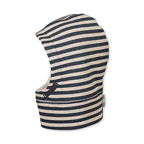 Sterntaler Schalmütze für Jungen mit Streifenmuster, Alter: 2-4 Jahre, Größe: 53, Blau (Marine)
