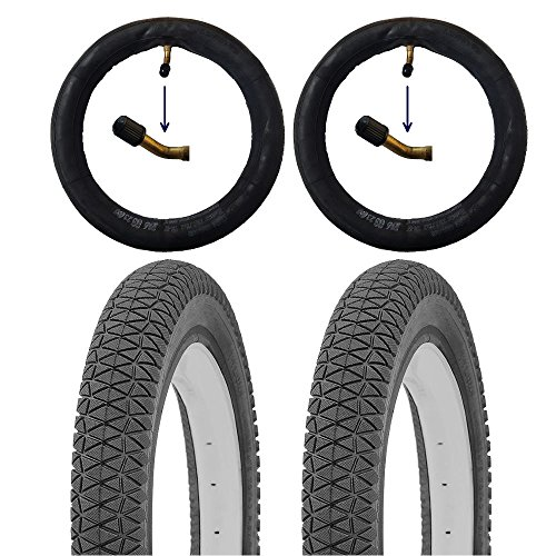 10 Zoll Reifen Set 10x1.75 Kinderwagen Reifen ETRTO 10 Zoll inkl. Schläuche AV