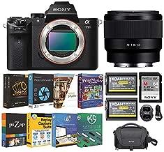 Sony Alpha a7 II Full-Frame Mirrorless Digital Camera with FE 50mm f/1.8 Lens Bundle (6 Items)