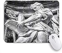 EILANNAマウスパッド ローマの建築史の石の芸術イタリアヨーロッパのデザイン写真プリント ゲーミング オフィス最適 高級感 おしゃれ 防水 耐久性が良い 滑り止めゴム底 ゲーミングなど適用 用ノートブックコンピュータマウスマット