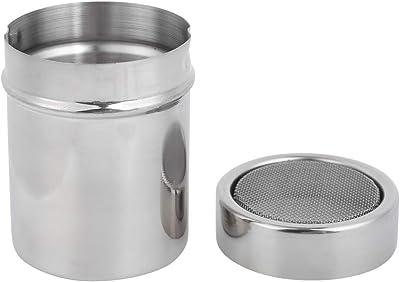 Salt Pepper Shakers Seasoning Jar Powdered Sugar Shaker Dispenser Cocoa Flour Coffee Sifter for Baking Kitchen BBQ