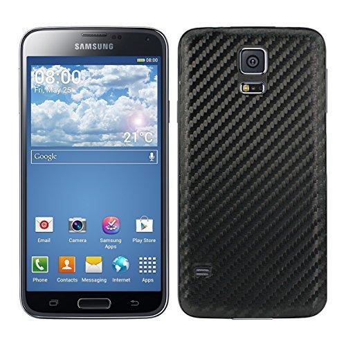 kwmobile 1x Tapa para batería Compatible con Samsung Galaxy S5 / S5 Neo en Color Negro