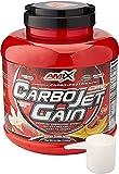 AMIX - Proteína en Polvo Carbojet Gain - Suplemento con Hidratos de Carbono de Alta Calidad -Proteína para Ganar Masa Muscular - Ideal para Atletas de Élite - Sabor Fresa - 2,25 KG