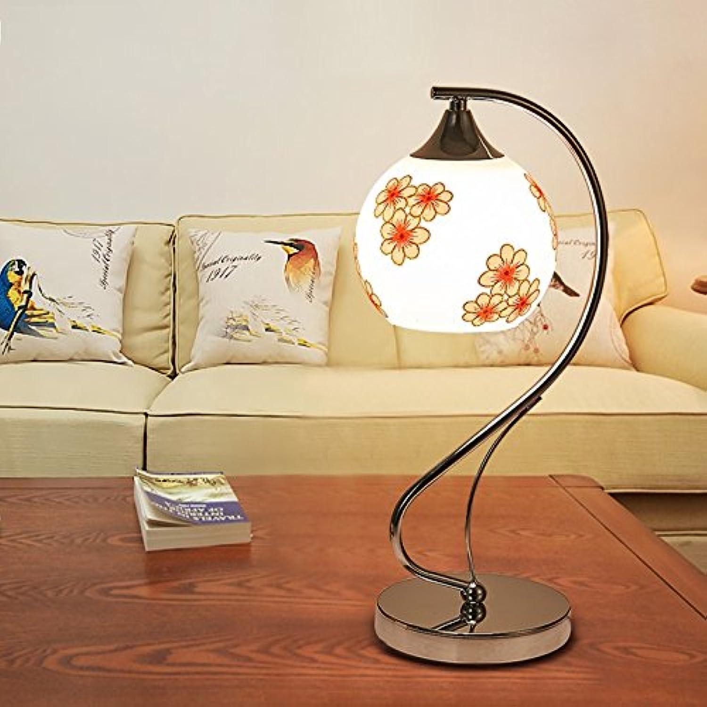 GYP LED Tischleuchte am Bett Schlafzimmer Wohnzimmer Glaslampe kreative Dekoration-Büro-Hochzeit Energiesparlampe Dimming ( Farbe   D )