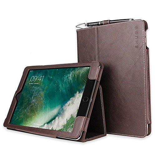 Snugg iPad Air 2 (2014)Schutzhülle, Leder Schutz Klapphülle Case Cover Ständer für Apple iPad - Dunkelbraun