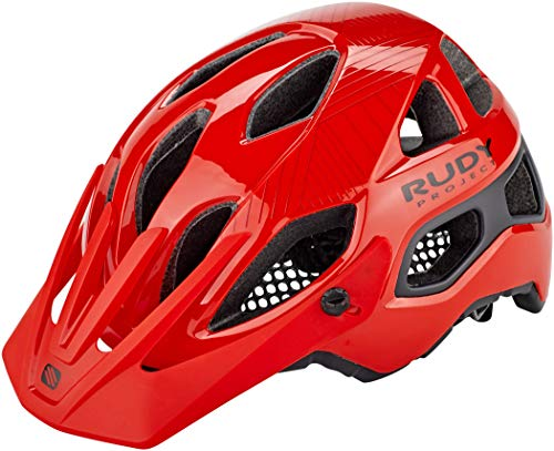 Rudy Project Protera Helm red-Black Shiny-Matte Kopfumfang S-M | 54-58cm 2020 Fahrradhelm