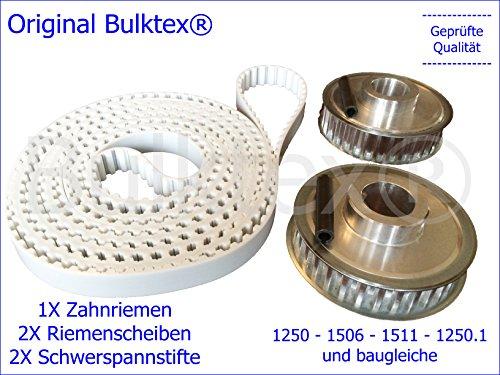 Bulktex® Umrüstsatz von Kette auf Zahnriemen passend Zippo Hebebühne two post lift 1250 1250.1 1506 1506.1 1511 und viele Weitere