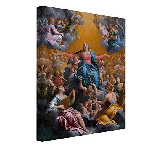 Bilderwelten Cuadro en lienzo - Guido Reni - La Asunción de la Virgen María - Alto 4:3, cuadros cuadro lienzo cuadro sobre lienzo cuadro decoracion cuadros decorativos cuadro xxl, Tamaño: 100 x 70cm