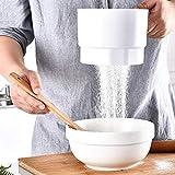 YOUNICER Tamis À Farine Électrique Poche en Plastique Tasse Shaker Cuisine Cuisson Cuisson Tamis Noyau De...