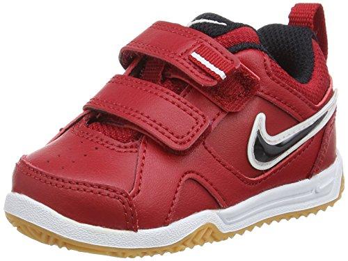 Nike Lykin 11 (TDV), Scarpe Primi Passi. Bambino Bimbo 0-24, Rosso/Nero/Marrone/Bianco/Marrone Chiaro (Rojo Negro Marrón Blanco Gym Red Blk Gm Lght Brwn White), 18.5 EU