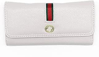 Women Wallet Leather Wallet Card Holder Wallet (White)