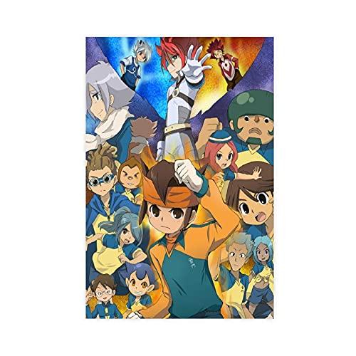 Poster da gioco Inazuma Eleven 3 poster su tela, decorazione da parete per soggiorno, camera da...