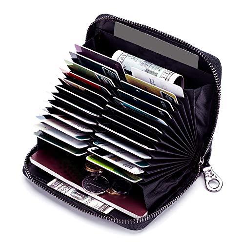 Image of Genuine Leather Credit Card...: Bestviewsreviews