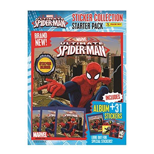 Spider-Man Ultimatesmssp Ultime Autocollant Starter Pack