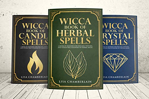 Wicca Spellbook Starter Kit: A Book of Candle, Crystal, and Herbal Spells (Wicca Starter Kit Series)