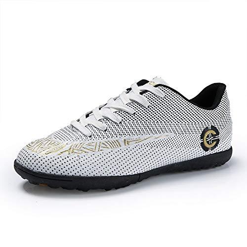 Mengxx Zapatos de Fútbol Zapatos de Fútbol Unisex Zapatos de Entrenamiento Juvenil Zapatos de Fútbol Al Aire Libre