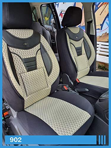 Maß Sitzbezüge kompatibel mit Fiat Ducato 250 Fahrer & Beifahrer ab BJ 2006 Farbnummer: 902