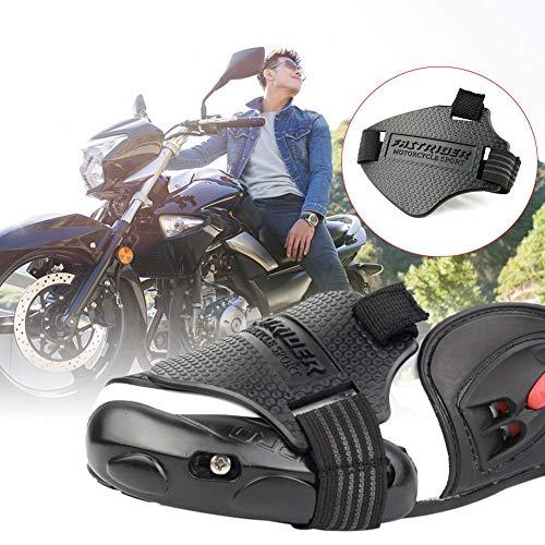 asterisknewly Motorrad Schalthebel, Lokomotive Gangschaltung Schuh Protector Rubber Gear Slip Schutz Überschuh für Motorradfahren (außer Motorradstiefel)